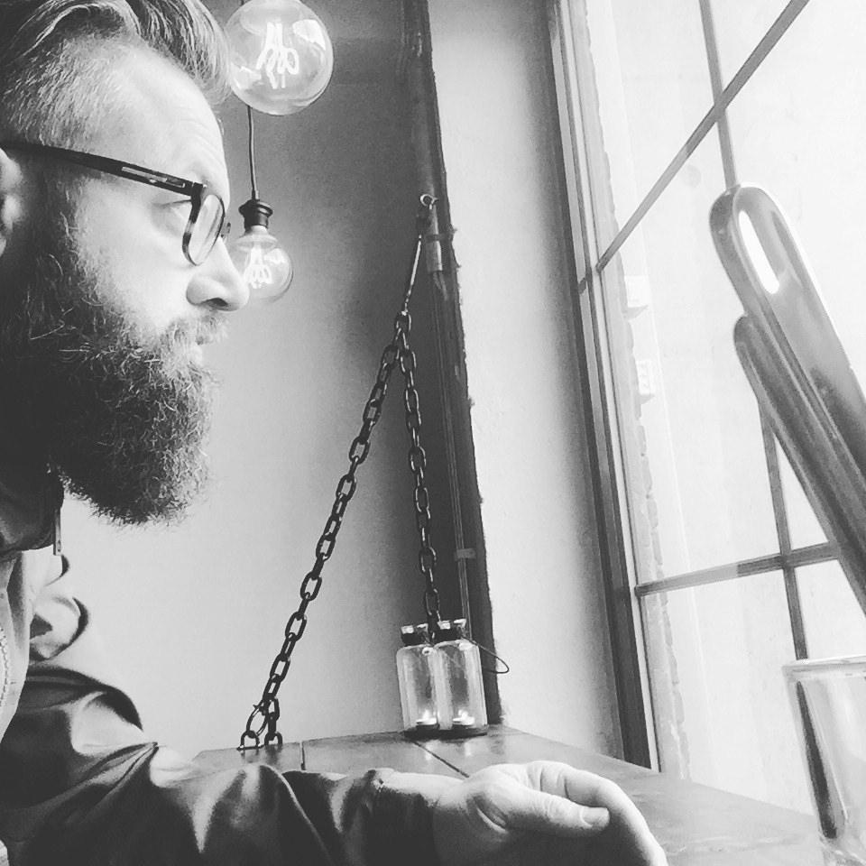 Frode beardy nerd